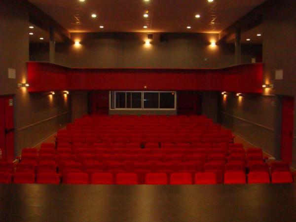 Salle de cinéma (salle Daniel Rouault)